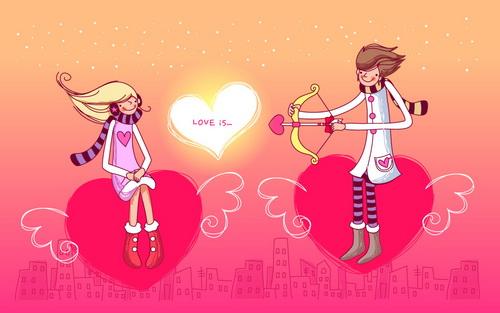 СМС в день Святого Валентина