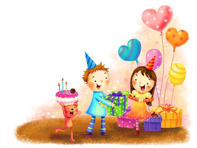 Статус в день рождения